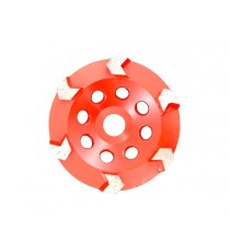 Arrow Cup Wheel 5inch - 6seg
