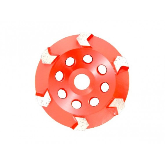 Arrow Cup Wheel 5inch - 6seg