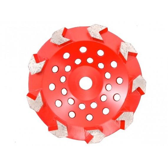 Arrow Cup Wheel 7inch - 9seg