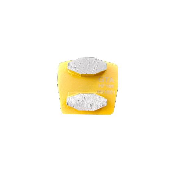 Coffin Double Diamond Segment (Clearance)