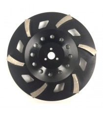 "Satellite Cup Wheel 10"" 6 segment"