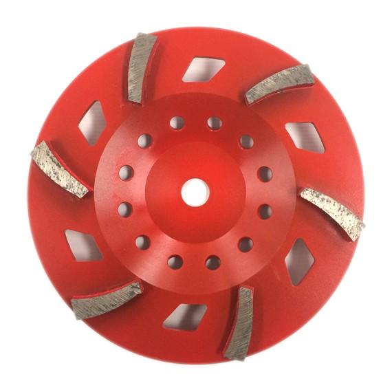 "Satellite Cup Wheel 10"" 6 segment"