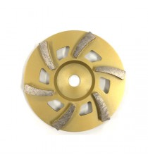 "Satellite Cup Wheel 7"" 6 segment"